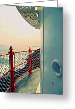 Lighthouse View Greeting Card