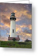Lighthouse Visitors Greeting Card