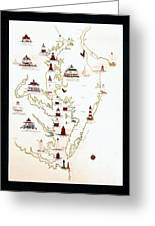 Lighthouses Of The Chesapeake Bay Greeting Card