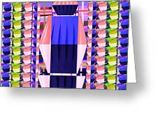 Lighting Illusions Fineart By Navinjoshi At Fineartamerica.com  Pleated Skirts Fabric Pattern And Te Greeting Card