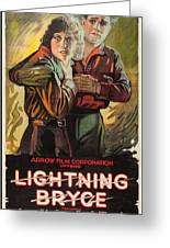 Lightning Bryce 1919 Greeting Card
