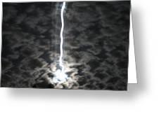 Lightning Moon Greeting Card
