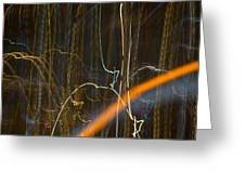 Lights Abstract04 Greeting Card