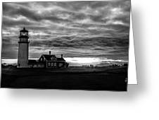Lights In The Storm Greeting Card
