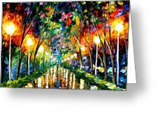 Lights Of Hope Greeting Card