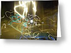 Lights That Attack Cars Greeting Card