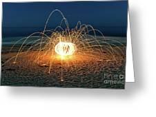 Lighty Fireworks Greeting Card