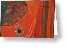 Like The Fabrics Of India Greeting Card