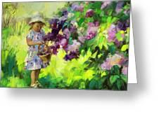 Lilac Festival Greeting Card
