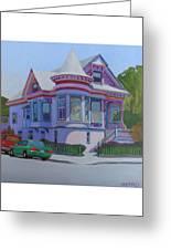 Lilac House, Alameda Greeting Card