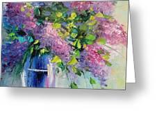 Lilac Greeting Card