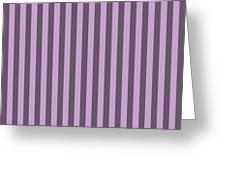 Lilac Purple Striped Pattern Design Greeting Card