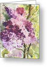 Lilacs - Note Card Greeting Card