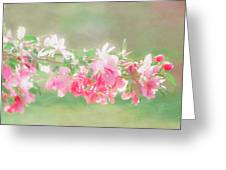 Lilacs In Sunshine Greeting Card