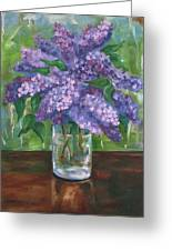Lilacs Greeting Card