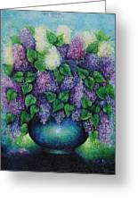 Lilacs No 1. Greeting Card