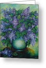Lilacs No 2. Greeting Card