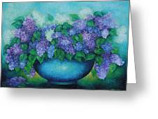 Lilacs No 3. Greeting Card