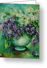 Lilacs No 4. Greeting Card
