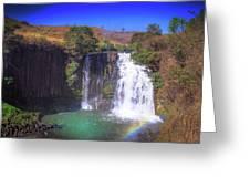 Lili Waterfall  Greeting Card