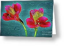 Lilies 18-10 Greeting Card