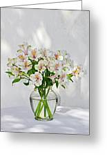 Lilies In A Vase 001 Greeting Card