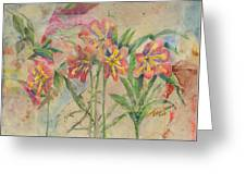 Lilies In Disguise Greeting Card