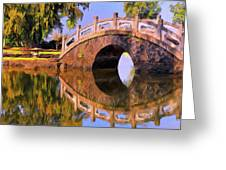Liliuokalani Gardens Greeting Card