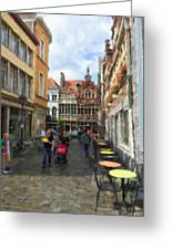 Lille Streets Series #2 Greeting Card
