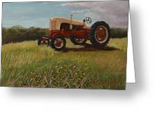 Lillians Tractor Greeting Card