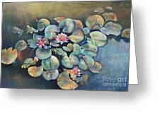 Lillies In Spain Greeting Card