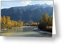 Lillooet River Greeting Card