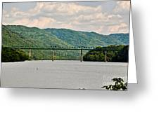 Lilly Bridge - Hinton West Virginia Greeting Card