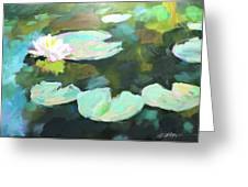 Lillypad Reflections Greeting Card