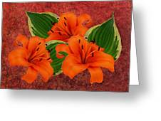 Lily 3 Greeting Card