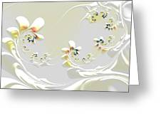 Lily Chains Greeting Card