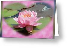 Lily Hearted Greeting Card