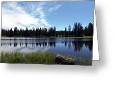 Lily Lake Greeting Card