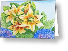 Lily.2007 Greeting Card