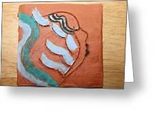 Lilyanne - Tile Greeting Card