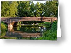 Lime Valley Bridge Greeting Card