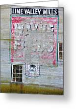 Lime Valley Mills Greeting Card