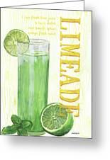 Limeade Greeting Card