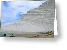 Limestone Cliffs Greeting Card