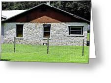Limestone Family Home Greeting Card