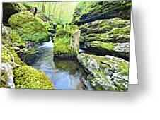Limestone Waters Greeting Card