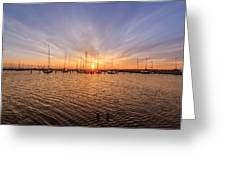 Limhamn Marina Greeting Card