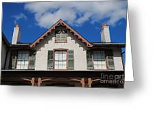 Lincoln Cottage Greeting Card