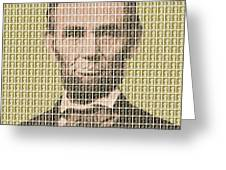 Lincoln - Gold Greeting Card