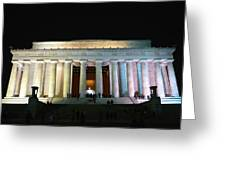 Lincoln Memorial - From Reflecting Pool Greeting Card